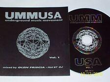 UMM USA - UNDERGROUND MUSIC MOVEMENT (VOL.1)  USA/1996