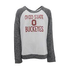 Kids Youth Girls Ohio State Buckeyes NCAA Light Weight Sweatshirt New With Tags