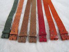 umjubelt Gürtel echt Leder Wechselgürtel ohne Schnalle 90 95 100 Farben NEU /P