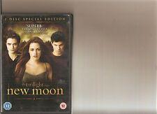 TWILIGHT SAGA NEW MOON DVD 2 DISC SPECIAL EDITION