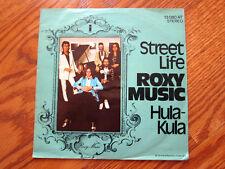 ROXY MUSIC Street Life German Picture Sleeve 45