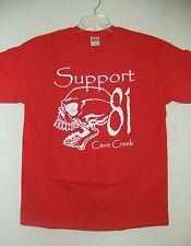 Hells Angels Cave Creek - Mens - Skull Support T-Shirt