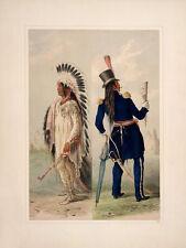 "Catlin North American Indian Portfolio: ""Wi-jun-jou."" (1844) — Fine Art Print"