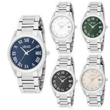 Reloj De Mujer LIU JO Luxury ROMANA Pulsera Acero Inoxidable Negro Blanco 35mm