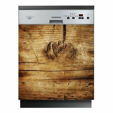 Autocollant Stickers lave vaisselle bois Ref: LAV-054