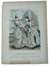 Tull chemiset Illustrirte Frauen Zeitung moda Berlin Druck von Carl Marquart