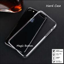 Transparent Clear Slim Thin Cover Hard Plastic Case iPhone 7 8 plus