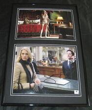 January Jones SEXY Signed Framed Photo Set 12x18 GAI