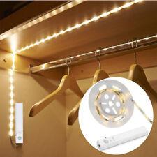 2m 3m LED Stripe mit PIR Bewegungsmelder Lichtband Streifen Batteriebetrieb Band
