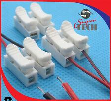 50 x 10a Quick Fix ressort terminal block Push-In sans vis connecteur de fil