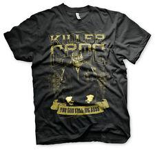 OFFICIAL Licensed SQUADRA SUICIDA-Killer Croc Uomo T-Shirt Nero S-XXL