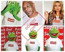 Kermit Supreme Kermit the frog  A3 Poster Print 260gsm