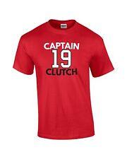 "Jonathan Toews Chicago Blackhawks ""Captain Clutch"" jersey T-shirt  S-5XL"