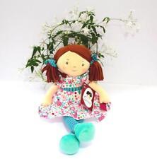 Personnalisé Rag Doll Fran 40 cm pour bébé tout nom brodé Imajo Bonikka