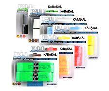 Karakal Super PU apretones de Reemplazo-Paquete de 2-tenis-SQUASH-Badminton