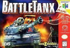 BattleTanx (Nintendo 64, 1998) n64 GAME ONLY NICE SHAPE NES HQ