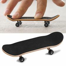 Wooden Finger Skate Board Grit Box Foam Tape Kids Children Toy Gifts