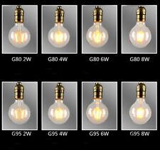 E27 B22 Screw Bayonet LED COB Filament Antique Edison Bulb Globe Deco Light Lamp