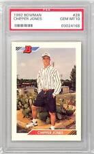 1992 Bowman Chipper Jones (#28) PSA10 PSA