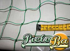 Ballfangnetz Meterware Höhe 3 m grün  Maschenweite 5 cm  Ballnetz Netz