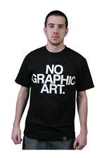 Dissizit NOIR HOMMES SANS GRAPHIQUE Art T-shirt Fabriqué aux états unis Compton