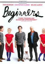 DVD Beginners Christopher Plummer, Ewan McGregor Mike Mills SEALED NEW