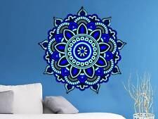 Mandala Wall Decal Full Color Murals Vinyl Stickers Bohemian Decor Boho EN1