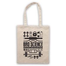 BRO SCIENCE BUILDING BETTER BODIES GYM BODYBUILDING FIT SHOULDER TOTE SHOP BAG