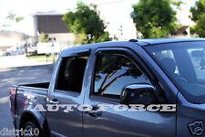 QUALITY GREAT WALL DUAL CAB UTE 2009-2014 WEATHER SHIELD WINDOW VISORS V200 V240