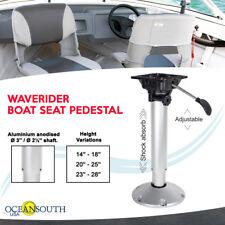 Shock Absorbing Adjustable Waverider Boat Seat Pedestal