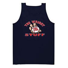 "Steven Wright Boston Red Sox ""The Wright Stuff"" jersey shirt TANK-TOP"