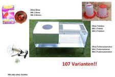 Aufzuchtbox Legebox Wärme Box Käfig für Küken / Wachteln 107 Varianten