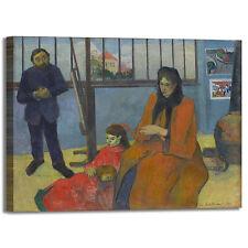 Gauguin studio di schuffenecker quadro stampa tela dipinto telaio arredo casa