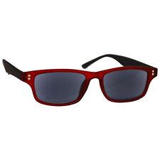 Lector de lectores de Goma Rojo Sol UV Gafas de lectura UV400 para hombre para mujer UVSR 033