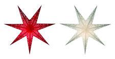 weihnachtsstern adventsstern dekostern leuchtstern stern papier deko lampe licht
