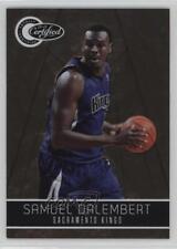 2010 Totally Certified Gold 61 Samuel Dalembert Sacramento Kings Basketball Card