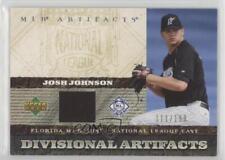 2007 Upper Deck Artifacts Divisional #DA-JJ Josh Johnson Miami Marlins Card