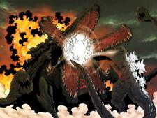 Godzilla vs Biollante Gojira tai Biorante Art Huge Giant Wall Print POSTER