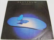 Mike Oldfield - PLATINUM LP Mega rare Israeli press hebrew cover Misspressed