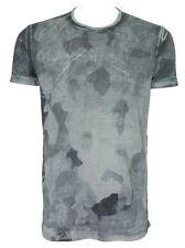C'N'C (Costume National) light camo overprint cotton relax fit tee black