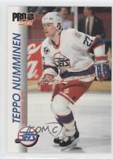 1992-93 Pro Set #210 Teppo Numminen Winnipeg Jets Hockey Card