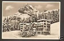 BRAUNWALD (SUISSE) HOTEL NIEDERSCHLACHT en 1955