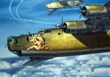 WW2 US Heavy Bomber B-24 Liberator Picture