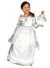 Barbie Prinzessin weiß Kinderkostüm + Puppenkleid Fasching Karneval