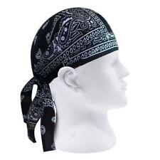 Adult Men Paisley Motorcycle Wrap Biker Hat Bandana Headscarf Skull Cap Trendy