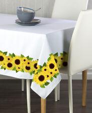 Sunflower Garland Border Tablecloths - Assorted Sizes!