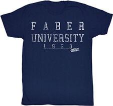 Animal House Movie Faber University 1963 Adult T Shirt Classic