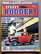 STREET RODDER MAGAZINE APRIL 1980 GM SCHEMATICS
