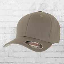 Flexfit Kappe Blanko Cap grau Mütze Haube Capi Schildmütze Basecap Fullcap Hat