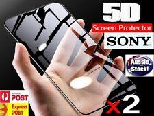 2x Screen Coverage Tempered Glass Protector For Sony Xperia XZ 1 2 Z1 Z2 Z3 Z5